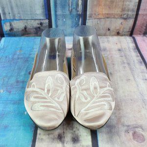 Franco Sarto Pointed Toe Flats Shoes Size 8.5 M